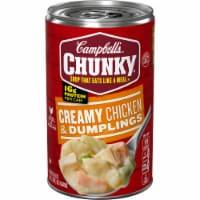 Campbell's Chunky Creamy Chicken & Dumpling Soup - 18.8 oz