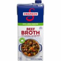 Swanson Low Sodium Beef Broth - 32 oz