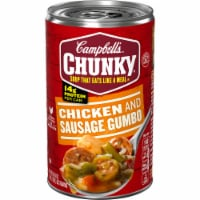 Campbell's Chunky Grilled Chicken & Sausage Gumbo Soup - 18.8 oz
