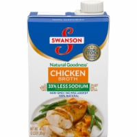 Swanson Natural Goodness Less Sodium Chicken Broth