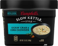 Campbell's Slow Kettle Style Kickin' Crab & Corn Chowder