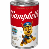 Campbell's Nickelodeon Paw Patrol Puppy Shaped Pasta with Chicken Condensed Soup