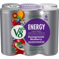 V8 +Energy Pomegranate Blueberry Juice
