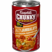 Campbell's Chunky Jazzy Jambalaya with Chicken Sausage & Ham Soup