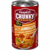 Campbell's Chunky Jazzy Jambalaya with Chicken Sausage & Ham Soup - 18.6 oz