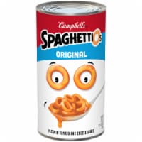 Campbell's SpaghettiOs Pasta in Tomato and Cheese Sauce