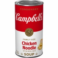Campbell's Chicken Noodle Condensed Soup Family Size
