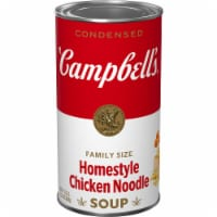 Campbell's® Condensed Homestyle Chicken Noodle Soup Family Size - 22.2 oz