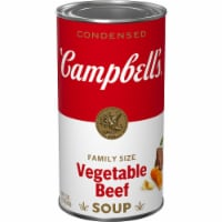 Campbell's® Vegetable Beef Condensed Soup Family Size - 23 oz
