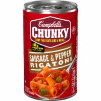 Campbell's Chunky Sausage & Pepper Rigatoni Soup - 18.8 oz
