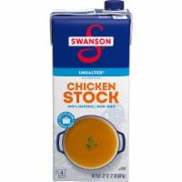 Swanson Unsalted Chicken Stock - 32 oz