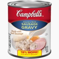 Campbell's Country Style Sausage Gravy
