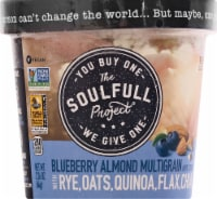 The Soulfull Project Blueberry Almond Multigrain Hot Cereal