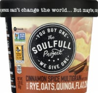 The Soulfull Project Cinnamon Spice Multigrain Hot Cereal