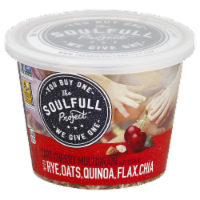 The Soulfull Project Tart Cherry Multigrain Hot Cereal with Rye Oats Winoa Flax Chia - 2.15 oz