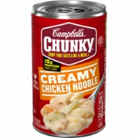 Campbell's Chunky Creamy Chicken Noodle Soup - 18.8 oz