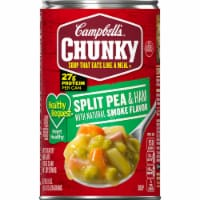 Campbell's Chunky Healthy Request Split Pea & Ham Soup - 19 oz