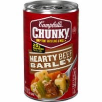 Campbell's Chunky Hearty Beef Barley Soup - 18.8 oz