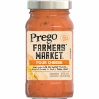 Prego Farmers' Market Four Cheese Sauce