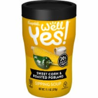 Campbell's Well Yes! Sweet Corn and Roasted Poblano Sipping Soup