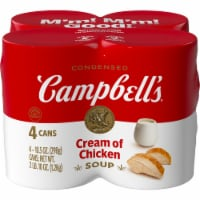 Campbell's Cream of Chicken Condensed Soup 4 Count