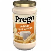 Prego Artisan Four Cheese Alfredo Sauce - 14.5 oz