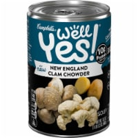 Campbell's Well Yes! New England Clam Chowder Soup - 16.3 oz