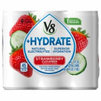 V8 +Hydrate Strawberry Cucumber Plant-Based Hydrating Beverage