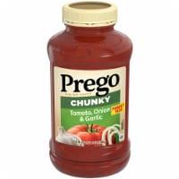Prego Garden Chunky Tomato Onion & Garlic Italian Sauce