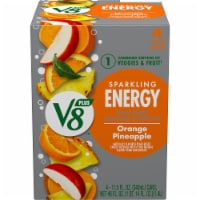 V8 Orange Pineapple Sparkling Juice Drink
