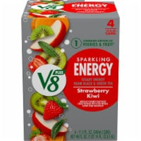 V8 Strawberry Kiwi +EnergyPlant-Based Energy Beverage