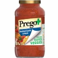 Prego Plus Super Hidden Veggies Roasted Garlic & Herb Flavored Pasta Sauce