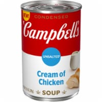 Campbell's® Condensed Unsalted Cream of Chicken Soup - 10.5 oz