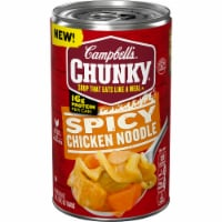 Campbell's Chunky Spicy Chicken Noodle Soup - 18.6 oz