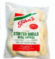 John's Pasta Stuffed Shells alla Vodka