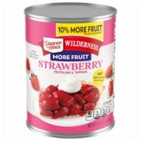 Wilderness Premium Strawberry Pie Filling & Topping - 21 oz