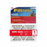 Filtrete Micro Allergen Defense 1000 Electrostatic Air Cleaning Filter