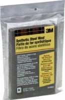 3M Extra Fine Synthetic Steel Wool - 6 Pack - Black