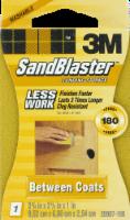 3M SandBlaster Sanding Sponge - Yellow