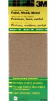 3M Aluminum Oxide General Purpose Sandpaper - 6 Pack