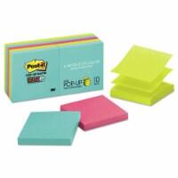 Post-It Pop-Up Notes Su Pads,Ss,Popup,3 x3 ,Miami R33010SSMIA - 1