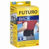 Futuro Adjustable Back Support - Black