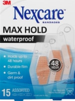 Nexcare Max Hold Waterproof Assorted Bandages