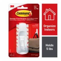 Command™ Damage-Free Hanging Large White Utility Hook - 1 ct