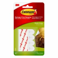 Command™ Damage-Free Hanging Small Poster Strips - White