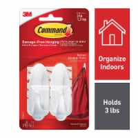 Command™ Damage-Free Medium Designer Hooks - White