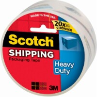 Scotch® Heavy Duty Shipping Packaging Tape - Clear
