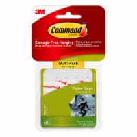 Command™ Damage-Free Hanging Poster Strips - White