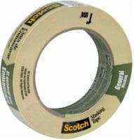 Scotch® General Masking Tape - Natural - 0.94 in x 60.1 yd