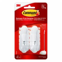 Command™ Damage-Free Wire Hooks – White